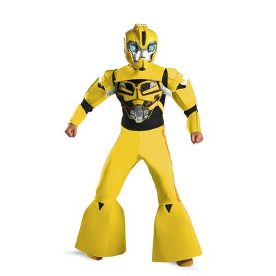 Disguise Costumes Bumblebee Animated Deluxe Costume