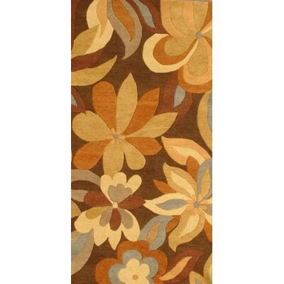 MevaRugs Foliage Brown Rug