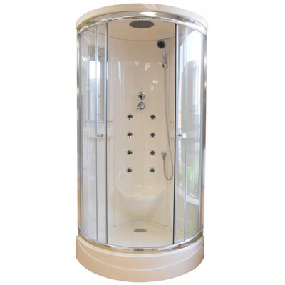 Steam Planet Corp Neo-Angle Door Shower Enclosure with Body Jets