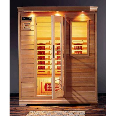 Steam Planet Corp Hemlock Three Person Infrared Sauna