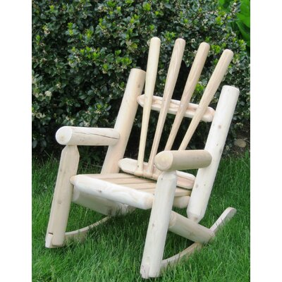 Children's Base Ball Adirondack Log Chair