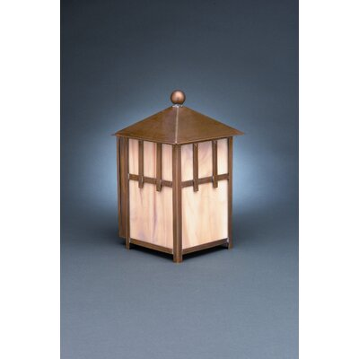 "Northeast Lantern Lodge 10"" Medium Base Socket Wall Lantern"