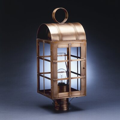 Northeast Lantern Adams 3 Light Outdoor Post Lantern