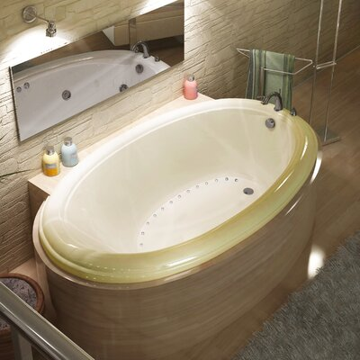 "Spa Escapes Martinique 70"" x 23"" Oval Air Tub"