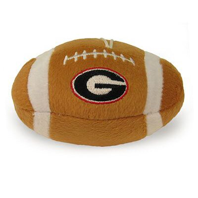 Sporty K9 NCAA Plush Dog Football Toy