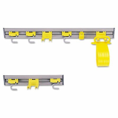 "Rubbermaid Commercial Products Closet Organizer/Tool Holder, 18"" Width"
