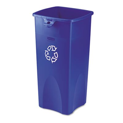 Rubbermaid Commercial Products Untouchable Recycling Container