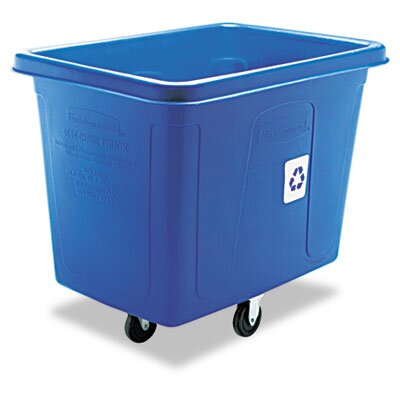 Rubbermaid Commercial Products Recycling Cube Truck