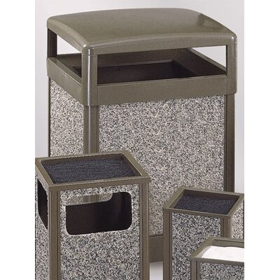 Rubbermaid Commercial Products Aspen Large Hinged Top Receptacle