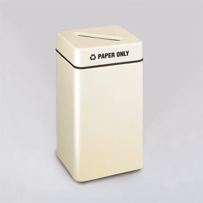 Rubbermaid Commercial Products Barclay Square Paper Recycling Receptacle