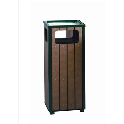 Rubbermaid Commercial Products Regent 50 Series 12 Gallon Sand Top Ash/Trash Receptacle