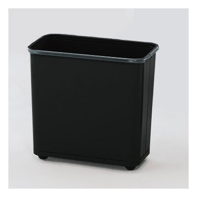 Rubbermaid Commercial Products Rectangular Steel Wastebasket