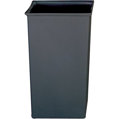 Rubbermaid Commercial Products Square Rigid Liner in Gray