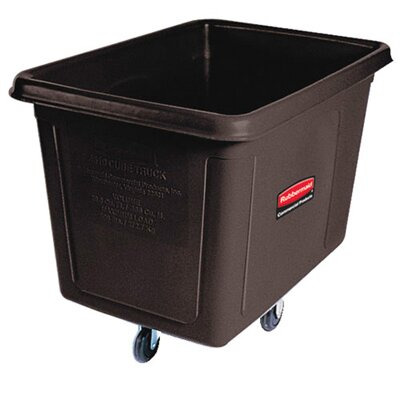 Rubbermaid Commercial Products Cube Truck in Black