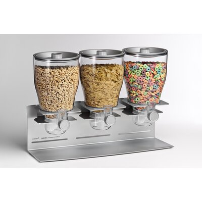 Zevro Indispensable Dispenser - Commercial Plus Edition Triple Canister Dispenser