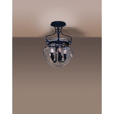 Hubbardton Forge Acharn 5 Light Semi Flush Mount