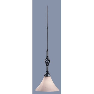 Twist Basket 1 Light Pendant
