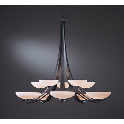Hubbardton Forge Aegis 10 Light Chandelier