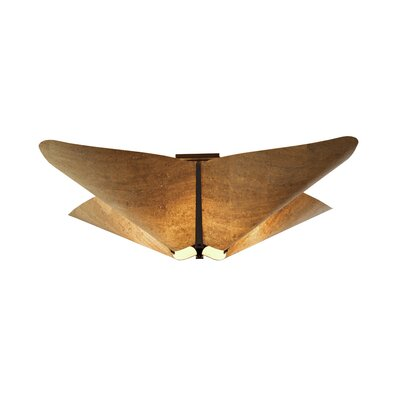 Hubbardton Forge Kirigami 4 Light Semi-Flush Mount