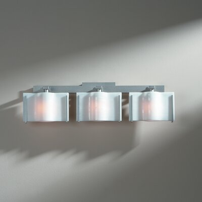 Hubbardton Forge Exos 3 Light Wave Wall Sconce