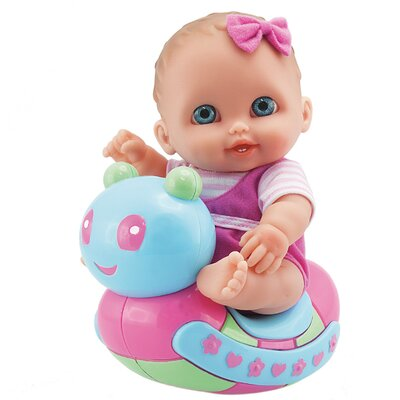 JC Toys Lil' Cutesies Caterpillar Rocker Doll