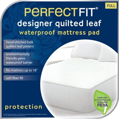Perfect Fit Industries Leaf Polyester Waterproof Pad