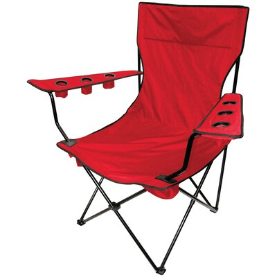 Outdoor Giant Kingpin Folding Chair in Red