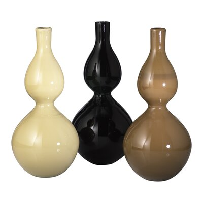 Silhouette Vase in Brown