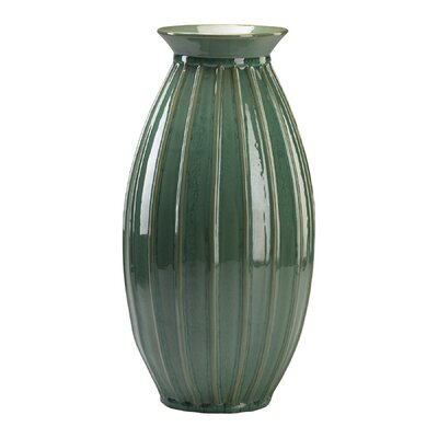 Cyan Design Medium Mellon Vase in Teal