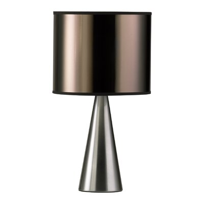 Cyan Design Manhattan Table Lamp in Satin Nickel