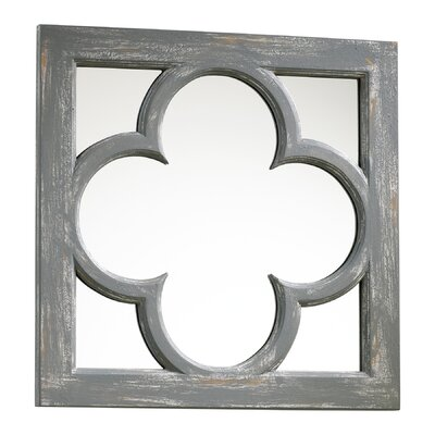 Cyan Design Ashwell Mirror in Distressed Gray