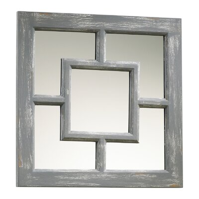 Cyan Design Ashbury Mirror in Distressed Gray