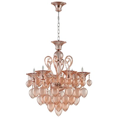 Bella Vetro Crystal Chandelier