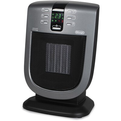DeLonghi Ceramic Tower Space Heater with Remote Control