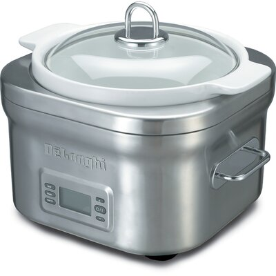Delonghi Stainless Steel Slow Cooker