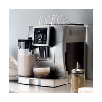DeLonghi Magnifica S Compact Digital Super Automatic Espresso, Cappuccino, Latte and Hot Milk ...