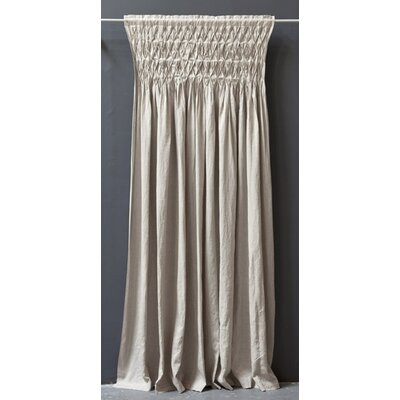 Pom Pom At Home Organic Linen Smocked Curtain Panel
