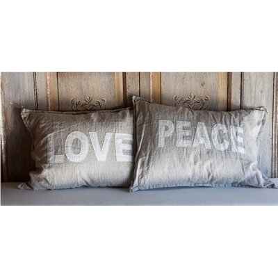 Pom Pom At Home Love and Peace Standard Shams (Set of 2)