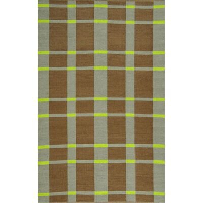 Thom Filicia Rugs Thom Filicia Saddle Lawn Green/Brown Rug