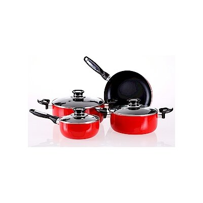 Vinaroz Venice Aluminum 7-Pieces Cookware Set