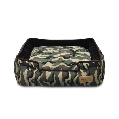 P.L.A.Y. Original Camouflage Lounge Dog Bed