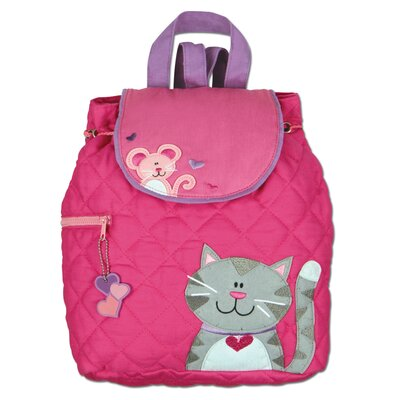 Stephen Joseph Cat Quilted Backpack