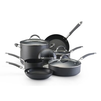KitchenAid Hard Anodized 10-Piece Cookware Set