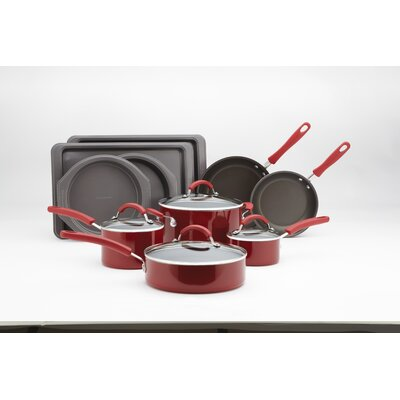 Promotional Aluminum 14-Piece Cookware Set