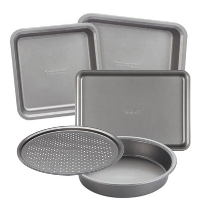 KitchenAid Bakeware 5 Piece Toaster Oven Bakeware Set