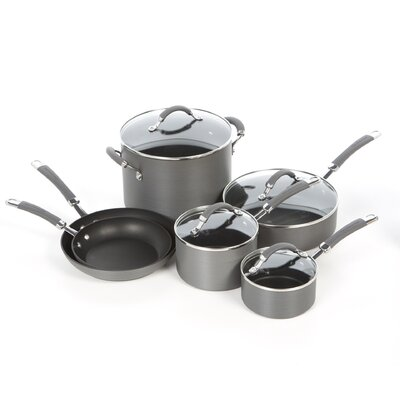 Hard Anodized 10-Piece Cookware Set