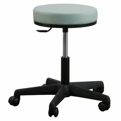 Oakworks Premium Stool with Round Swivel Seat