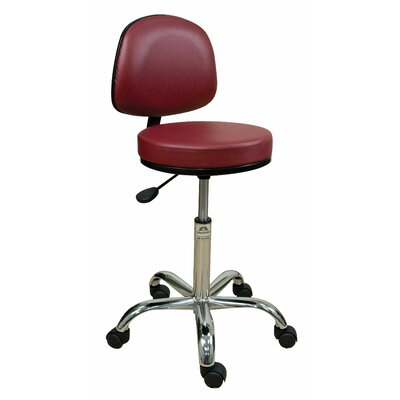 Oakworks Professional Stool with Adjustable Backrest