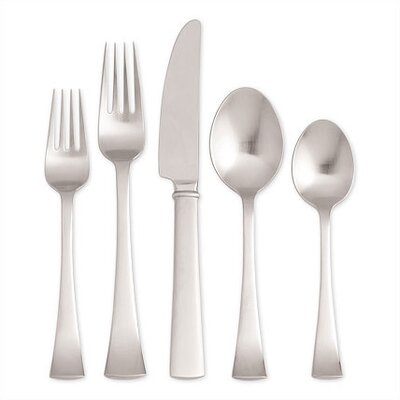 Dansk Cafe Blanc 5 Piece Flatware Set