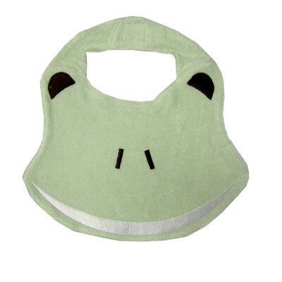 Under the Nile Animal Pals Frog Bib in Green